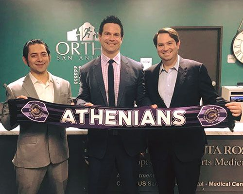 Ortho San Antonio will be the official physicians for the San Antonio Athenians!